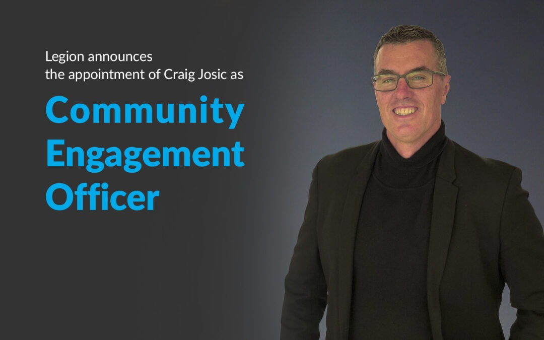 Legion Appoints Community Engagement Officer