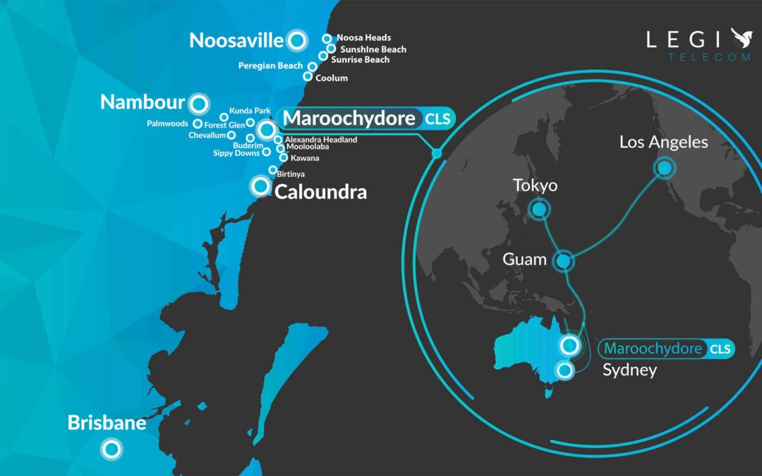 Media Release: Sunshine Coast submarine cable connects to local carrier's fibre network  to deliver high speed connectivity to locals